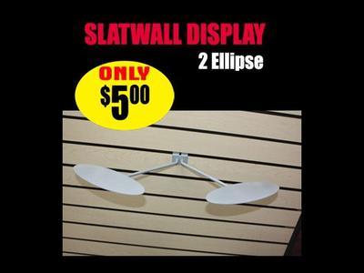 Slatwall Display 2 Ellipse