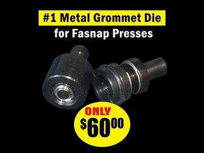 #1 Metal Grommet Die for Fastnap