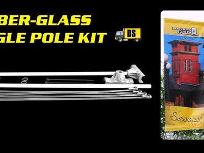 Pole Banner Single Kit Fiber-Glass
