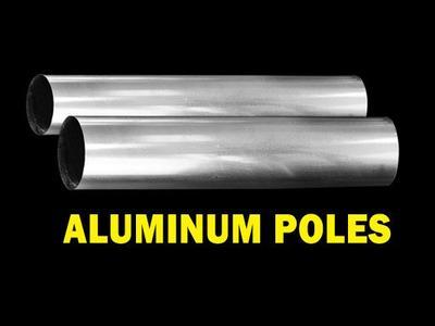 1″ & 1.66″ Aluminum Poles