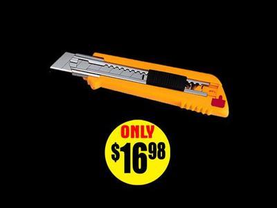 Multi-Blade Auto Load Utility Knife