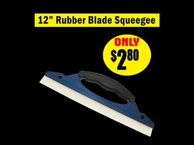 12″ Rubber Blade Squeegee