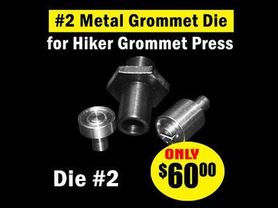 #2 Metal Grommet Die for Hiker Press