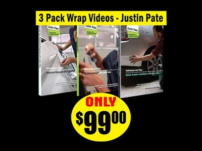 3 Pack Wrap DVD's – JP