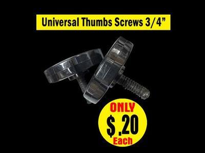 Universal Thumbs Screws 3/4″