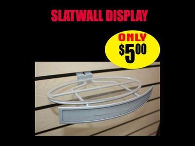 Slatwall Display Ellipse
