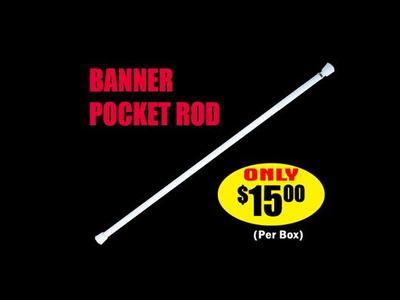 Banner Pocket Rod
