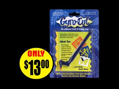 Craft and Hobby Tool Gyro-Cut