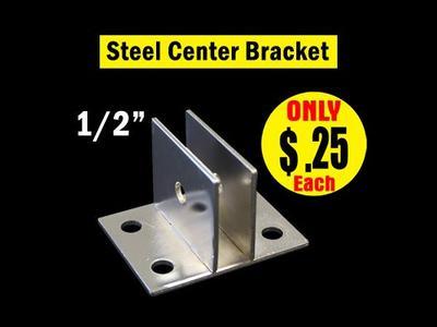 Steel Center Bracket 1/2″