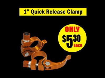 1″ Quick Release Clamp