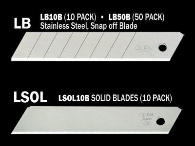 Heavy Duty Replacement Blades