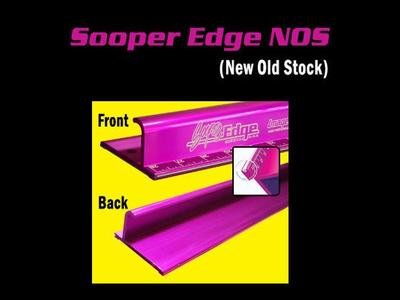 NOS Sooper Edge Safety Rulers