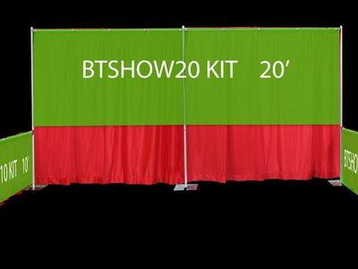 Trade Show Banner Backdrop Kit